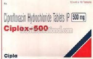 Ciplox-500 Tablets