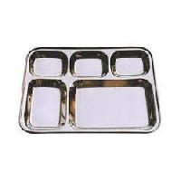 SS Mess Tray 5 in 1