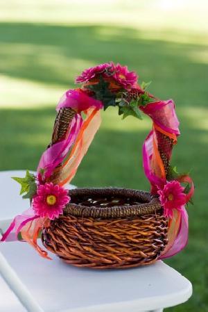 Flower Girl Basket 06