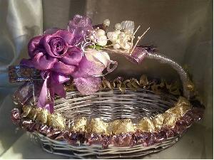 Flower Girl Basket 09