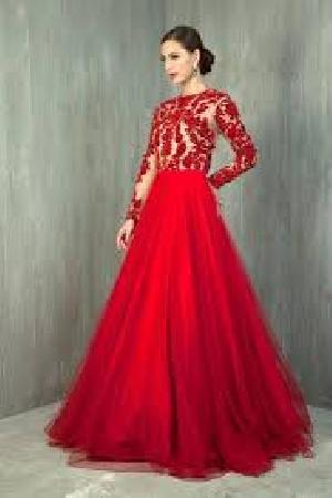Indo Western Gown 01