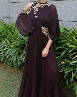Indo Western Gown 13