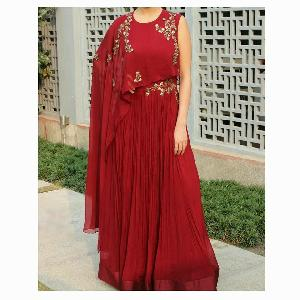 Indo Western Gown 14