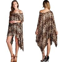 Ladies Poncho Dress