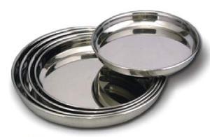 Stainless Steel Dinner Plates
