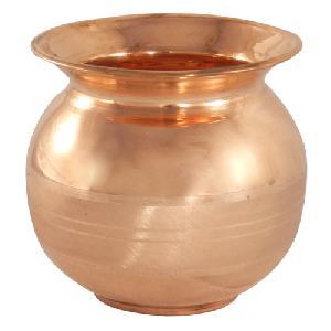 Copper Luxury Pooja Lota