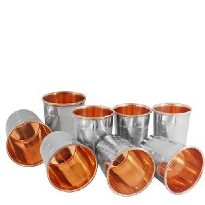 SS Copper Luxury Glasses