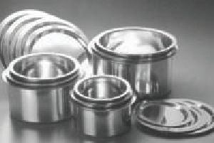 Stainless Steel Flat Bottom Tope With Cover
