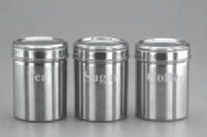 TF  3090 Stainless Steel Kitchen Canister