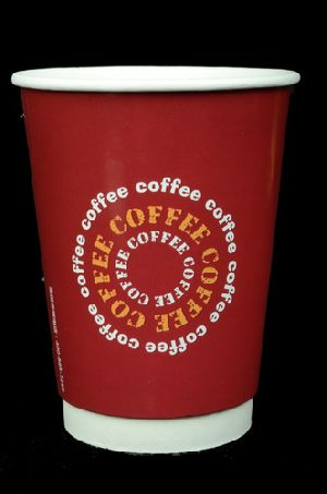 Disposable Double Walled Paper Coffee Cups
