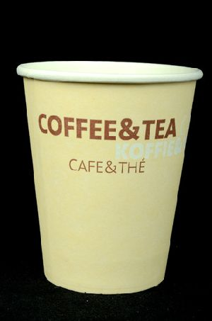 Disposable Single Walled Paper Coffee Cups