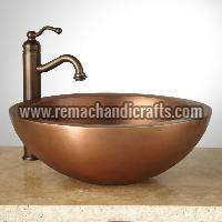 1003 Burgan Copper Vessel Sink
