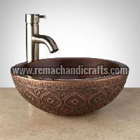 1007 Nilofar Copper Vessel Sink