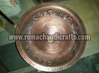 2003 Undermount Hammered Round Copper Sink