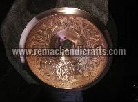 2010 Undermount Hammered Round Copper Sink