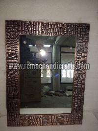 6002 Rectangular Leader Design Copper Mirror