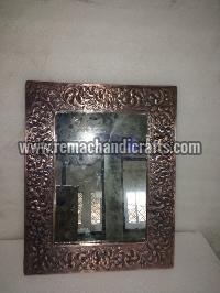6004 Rectangular Embossed Copper Mirror