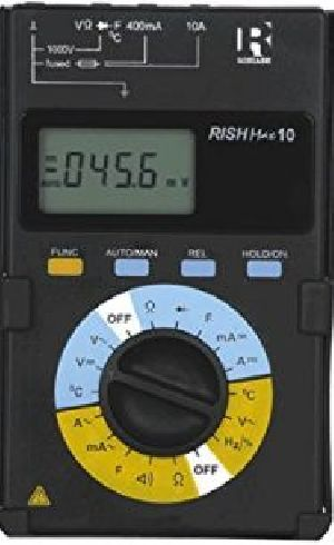 Rishabh Max10 Autorange Digital Multimeter