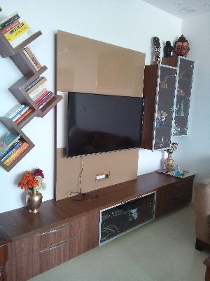 Living Room TV Unit Set and Book Reck