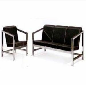 Stainless Steel Sofa Set 06