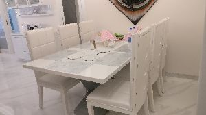 Wooden Dining Table Set 02