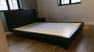 Wooden Platform Bed 04