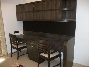 Wooden Study Table With Chair 01