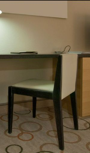 Wooden Study Table With Chair 03