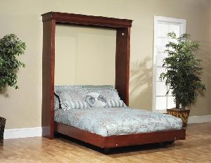 Wooden Wall Bed 01