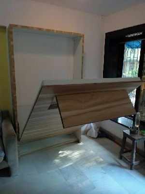 Wooden Wall Bed 08