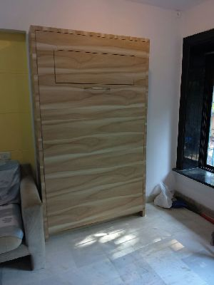 Wooden Wall Bed 09
