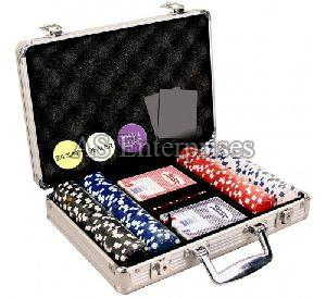200 Pcs Diced Poker Chip Set Without Denomination