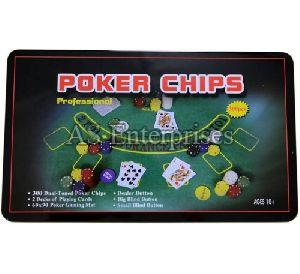 300 Pcs Poker Chips Set in Tin Case Green