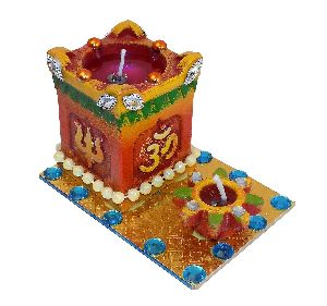 Religious Handmade Tea Light Candles