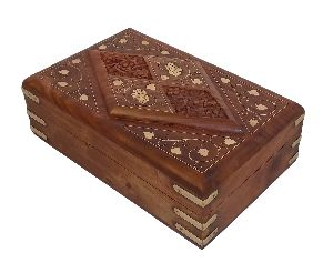 VIAN0366C Wooden Handmade Jewellery Box