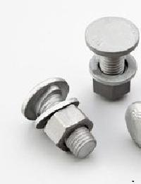 Hot Dip Galvanized Button Head Bolts With Nuts