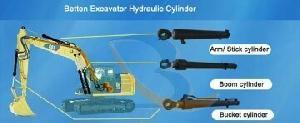 Excavator Boom Bucket Arm Cylinder