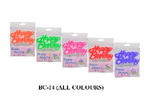 BC-14 Birthday Candles