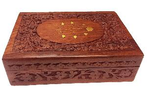 Wooden Carved Box 02