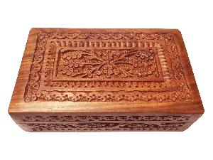 Wooden Carved Box 03