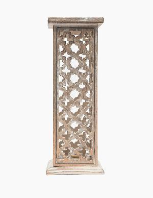 Wooden Incense Stick Burner Tower 03