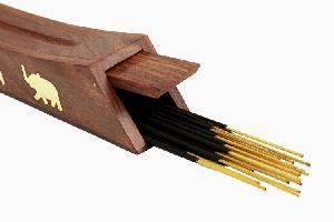 Wooden Incense Stick Burner Tower 14