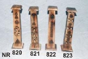 Wooden Incense Stick Burner Tower 17