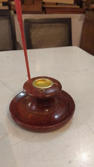 Wooden Incense Stick & Cone Stand
