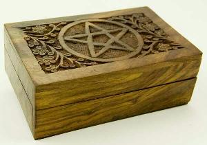 Wooden Jewellery Box 02