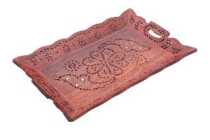 Wooden Serving Tray 04