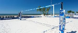 Volleyball Boundary Covering Net