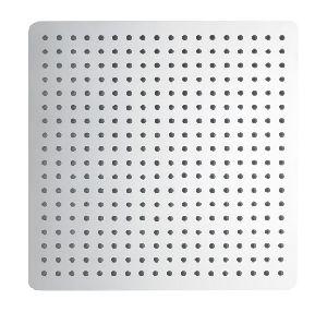 400mm Square Ultra Thin SS Rain Shower