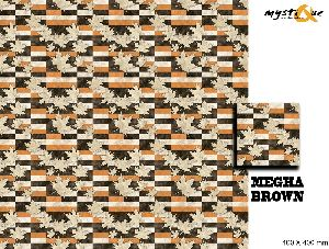 Megha Brown Floor Tiles