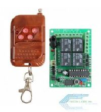 4 Channel RF Controlled Relay Board